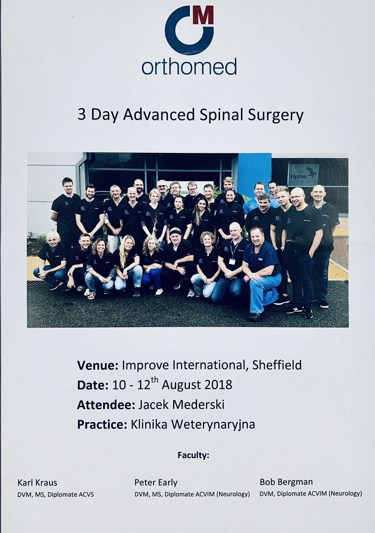 Orthomed Advanced Spinal Surgery - Sheffield